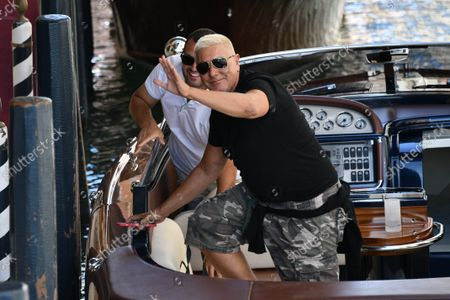 Editorial picture of Celebrities arrive in Venice, Italy - 29 Aug 2021