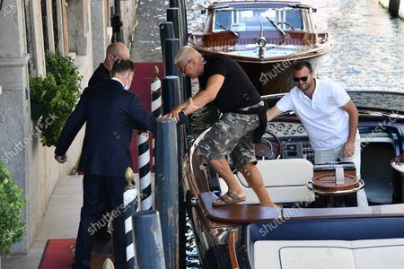 Editorial image of Celebrities arrive in Venice, Italy - 29 Aug 2021