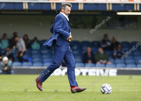 Phil Brown manager of Southend United  during National League between Southend United  and Stockport County at Roots Hall Stadium , Southend on Seas, UK on 25th August 2021