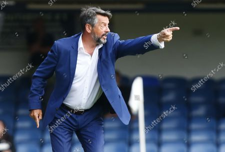 Editorial photo of Southend United v Stockport County  - National League, United Kingdom - 28 Aug 2021