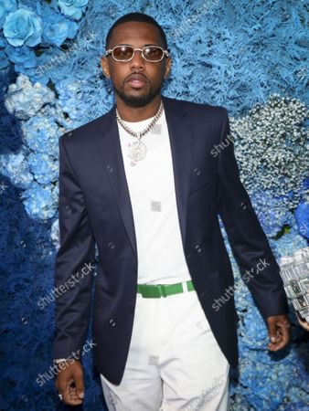 Stock Picture of Recording artist Fabolous attends the 40/40 Club's 18th year anniversary celebration, in New York