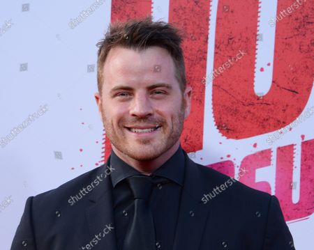 """Cast member Robert Kazinsky attends the premiere of the motion picture comedy """"Hot Pursuit"""" at TCL Chinese Theatre in the Hollywood section of Los Angeles on April 30, 2015. Storyline: An uptight and by-the-book cop tries to protect the outgoing widow of a drug boss as they race through Texas pursued by crooked cops and murderous gunmen."""