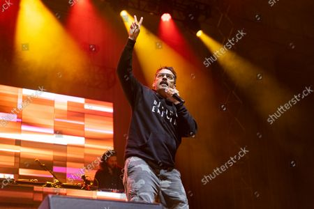 Editorial picture of Rap duo Atmosphere in concert at the UC Berkeley Hearst Greek Theatre in Berkeley, California, USA - 19 Aug 2021