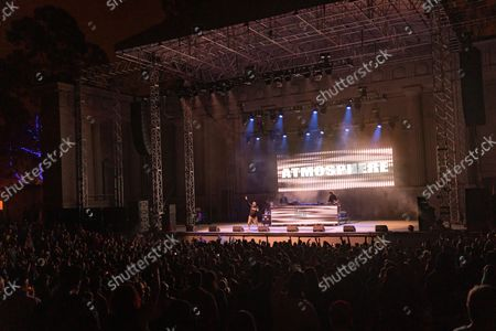 Editorial photo of Rap duo Atmosphere in concert at the UC Berkeley Hearst Greek Theatre in Berkeley, California, USA - 19 Aug 2021