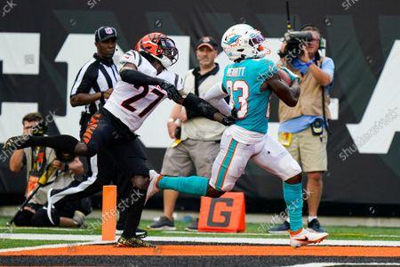 Editorial photo of Dolphins Bengals Football, Cincinnati, United States - 29 Aug 2021