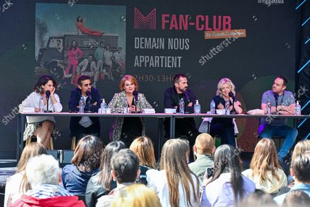 Editorial picture of 'Demain nous appartient' fan club meeting, Series Mania Festival day 2, Lille, France - 27 Aug 2021