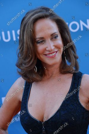 Gala Chair Lilly Tartikoff Karatz attends the 2015 Museum of Contemporary Arts gala presented by Louis Vuitton at the Geffen Contemporary at MOCA in Los Angeles on May 30, 2015. MOCA is a not-for-profit institution that relies on a variety of funding sources for its activities.