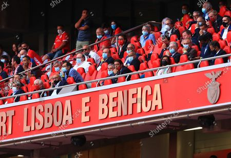 Rui Costa of SL Benfica during the Liga Bwin match between SL Benfica and CD tondela at Estadio da Luz on August 29, 2021 in Lisbon, Portugal.