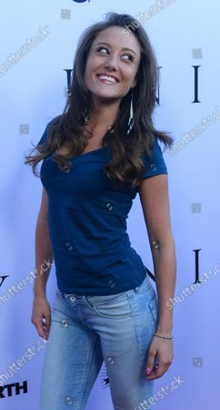 """Actress Lauren C. Mayhew attends the premiere of the motion picture documentary """"Unity"""" at the Directors Guild of America (DGA) in Los Angeles on June 24, 2015. Storyline: Despite the advent of science, literature, technology, philosophy, religion, and so on -- none of these has assuaged humankind from killing one another, the animals, and nature. UNITY is a film about why we can't seem to get along, even after thousands and thousands of years."""