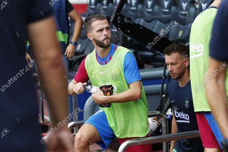 Editorial picture of La Liga Santander 2021/22 : FC Barcelona 2-1 Getafe CF, Barcelona, Spain - 29 Aug 2021