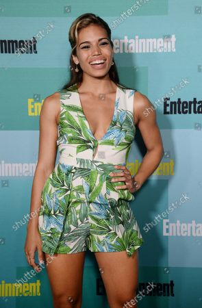 Actress Ciara Renee attends Entertainment Weekly's Comic-Con closing night celebration party at FLOAT at the Hard Rock Hotel in San Diego, California on July 11, 2015.