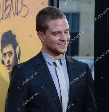 """Actor Jonny Weston attends the premiere of the  motion picture romantic drama """"We Are Your Friends"""" at the TCL Chinese Theatre in the Hollywood section of Los Angeles on August 20, 2015. Storyline: Caught between a forbidden romance and the expectations of his friends, aspiring DJ Cole Carter attempts to find the path in life that leads to fame and fortune."""