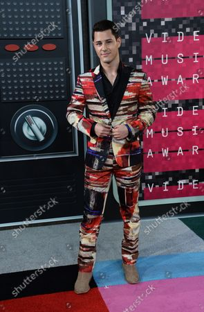 Actor Michael J. Willett arrives on the red carpet for the 32nd annual MTV Video Music Awards at Microsoft Theater in Los Angeles on August 30, 2015.