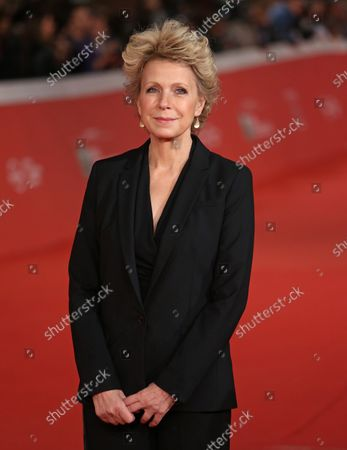 """Stock Picture of Mary Mapes arrives on the red carpet before the screening of the film """"Truth"""" at the 10th annual Rome International Film Festival in Rome on October 16, 2015."""