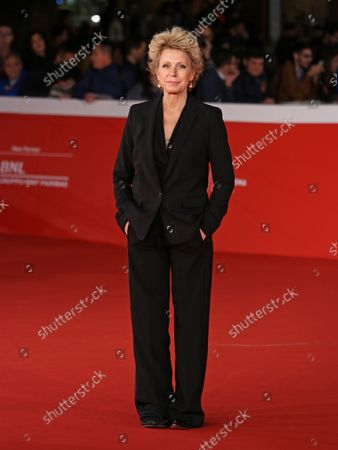 """Stock Photo of Mary Mapes arrives on the red carpet before the screening of the film """"Truth"""" at the 10th annual Rome International Film Festival in Rome on October 16, 2015."""