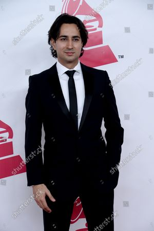 Enrique Arbelaez of XL Alliance arrives for the Latin Recording Academy Person of the Year tribute to Brazilian singer/songwriter Roberto Carlos at the Mandalay Bay Convention Center in Las Vegas, Nevada on November 18, 2015.