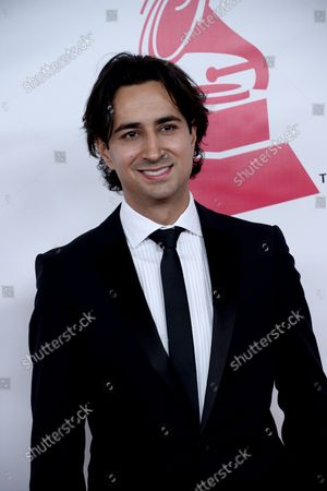 Stock Photo of Enrique Arbelaez of XL Alliance arrives for the Latin Recording Academy Person of the Year tribute to Brazilian singer/songwriter Roberto Carlos at the Mandalay Bay Convention Center in Las Vegas, Nevada on November 18, 2015.