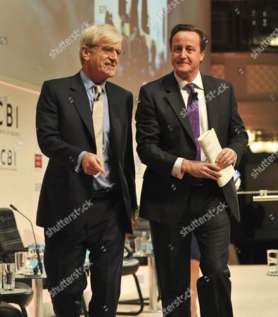 Editorial image of CBI Conference, London, Britain - 25 Oct 2010