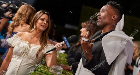 Stock Photo of Jennifer Lahmers  and Billy Porter