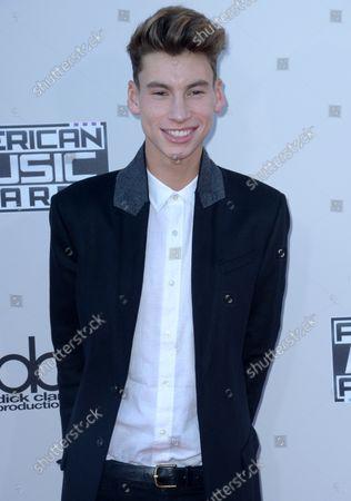 Editorial image of American Music Awards, Los Angeles, California, United States - 23 Nov 2015