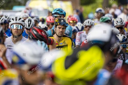 Dutch rider Tom Dumoulin of Jumbo-Visma team before the first stage of the Benelux Tour cycling race in Dokkum, the Netherlands, 30 August 2021.