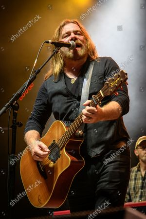 Canadian musician and actor Alan Doyle performed a sold out show at the BudWeiser Stage in Toronto, Canada. In picture: Alan Doyle