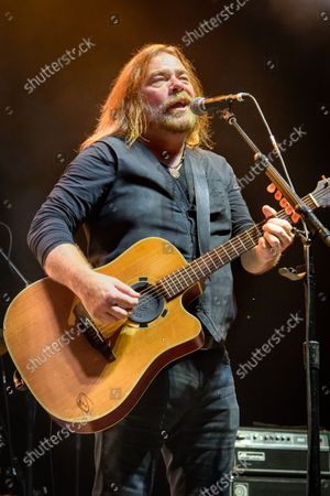 Editorial image of Alan Doyle Performance, Toronto, Canada - 28 Aug 2021