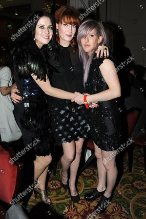 Stock Photo of Claire Maguire, Florence Welch and Ellie Goulding