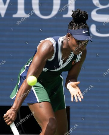 Sloane Stephens (USA) defeated Madison Keys (USA) 6-3, 1-6, 7-6, at the US Open being played at Billy Jean King Ntional Tennis Center in Flushing, Queens, New York. Leslie Billman/Tennisclix