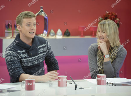 Stock Image of Lyndon Ogbourne and Carol McGiffin