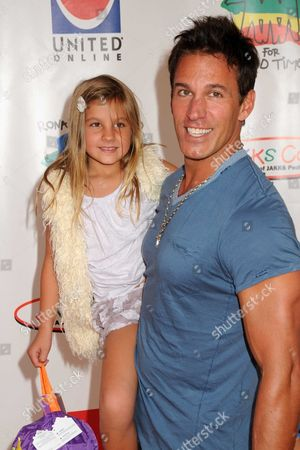Dan Cortese and daughter India Isabella