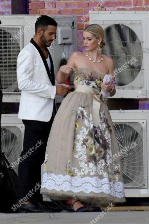 Editorial picture of Celebrity arrivals for Dolce & Gabbana Alta Sartoria event, Venice, Italy - 30 Aug 2021