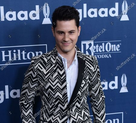Actor Michael J. Willett attends the 27th annual GLAAD Media Awards at the Beverly Hilton Hotel in Beverly Hills, California on April 2, 2016.