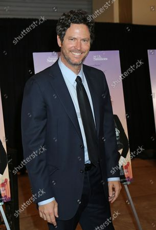 """Will Beinbrink arrives at the premiere of the film """"The Meddler"""" in Los Angeles on April 13, 2016."""