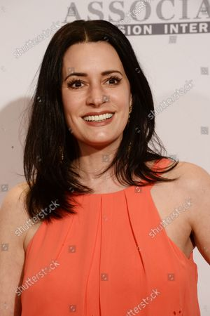 Actress Paget Brewster attends the 23rd annual Race To Erase MS gala at the Beverly Hilton in Beverly Hills, California on April 15, 2016.