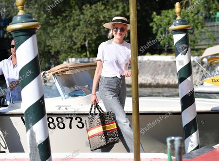Alba Rohrwacher arrives at Lido Beach ahead of the 78th annual Venice International Film Festival, in Venice, Italy, 31 August 2021. The 78th Venice Film Festival runs from 01 to 11 September 2021.