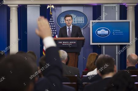 White House Press Secretary Jay Carney holds the daily briefing at the White House in Washington, D.C. on May 19, 2016.
