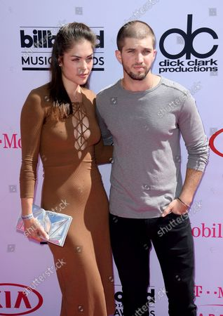 Actress Kelly Thiebaud and actor Bryan Craig attend the annual Billboard Music Awards held at T-Mobile Arena in Las Vegas, Nevada on May 22, 2016.
