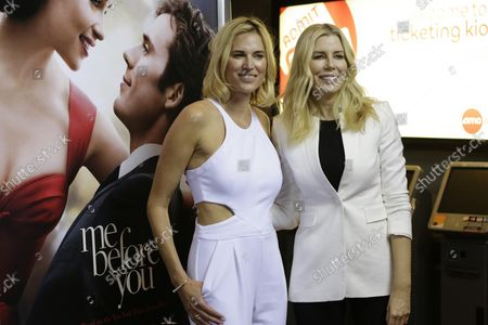 Aviva Drescher and Kristen Taekman arrive on the red carpet at the 'Me Before You' World Premiere at AMC Loews Lincoln Square 13 theater on May 23, 2016 in New York City.