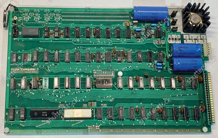 Editorial image of A fully-working Apple-1 computer has sold for £273,000 - 31 Aug 2021