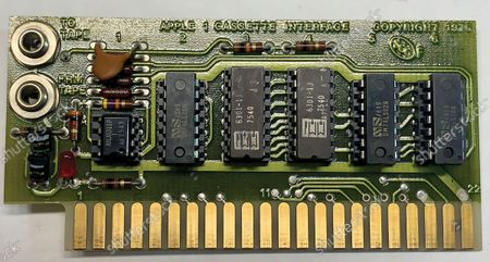 The computer's motherboard.  A fully-working Apple-1 computer has sold for £273,000.  The pioneering machine is one of the 200 'motherboards' Apple founder Steve Jobs and his associate Steve Wozniak designed in 1976.   Around 70 Apple-1 computers are known to exist today and of those less than 10 still work.