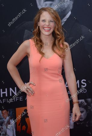 Actress Katie Leclerc attends American Film Institute's 44th Life Achievement Award gala tribute to composer John Williams at the Dolby Theatre in the Hollywood section of Los Angeles on June 9, 2016. Over six decades in Hollywood, Williams has written some of the most memorable music in movie history. His 100-plus features have earned 50 Academy Award nominations (making him the most-nominated living person), winning five times. Williams also received 22 Grammys, seven BAFTAs, five Emmys, four Golden Globes, a Kennedy Center Honor and the National Medal of Arts. And then there are all those iconic themes, the ones everyone in the world knows.