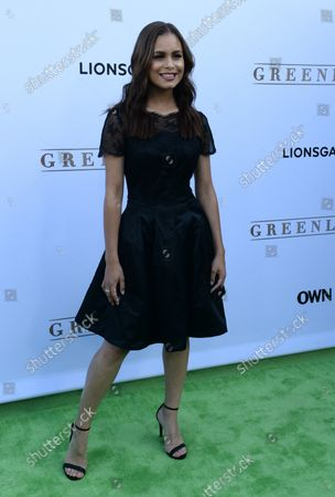 """Actress Desiree Ross attends the premiere of OWN's new drama series """"Greenleaf"""" at The Lot  in Los Angeles on June 15, 2016. Storyline: The unscrupulous world of the Greenleaf family and their sprawling Memphis megachurch, dark secrets and lies."""