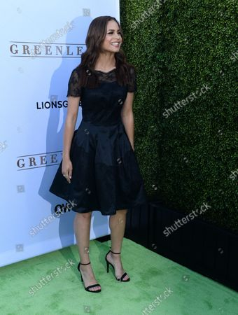 """Stock Picture of Actress Desiree Ross attends the premiere of OWN's new drama series """"Greenleaf"""" at The Lot  in Los Angeles on June 15, 2016. Storyline: The unscrupulous world of the Greenleaf family and their sprawling Memphis megachurch, dark secrets and lies."""