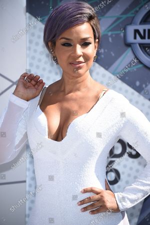 Actress LisaRaye McCoy-Misick attends the 16th annual BET Awards at Microsoft Theater in Los Angeles on June 26, 2016.