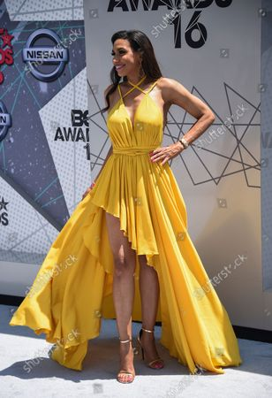 Television personality Rhonda Wills attends the 16th annual BET Awards at Microsoft Theater in Los Angeles on June 26, 2016.