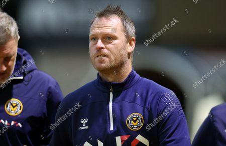 Newport County Manager Michael Flynn.