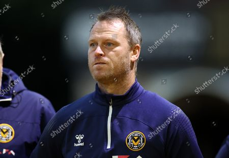 Editorial photo of Newport County v Plymouth Argyle - Papa Johns Trophy - 31 Aug 2021