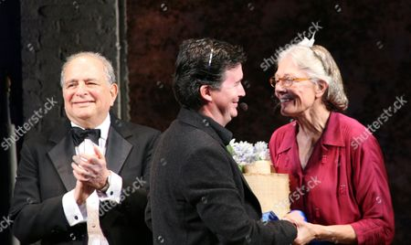 Alfred Uhry, guest, Vanessa Redgrave