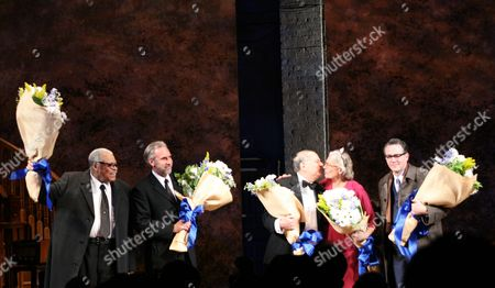 Editorial image of 'Driving Miss Daisy' Opening Night, Golden Theatre, New York, America - 25 Oct 2010